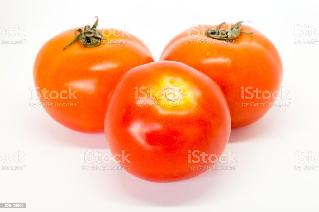 tomato vegetables isolated on white background Clipping Path stock photo