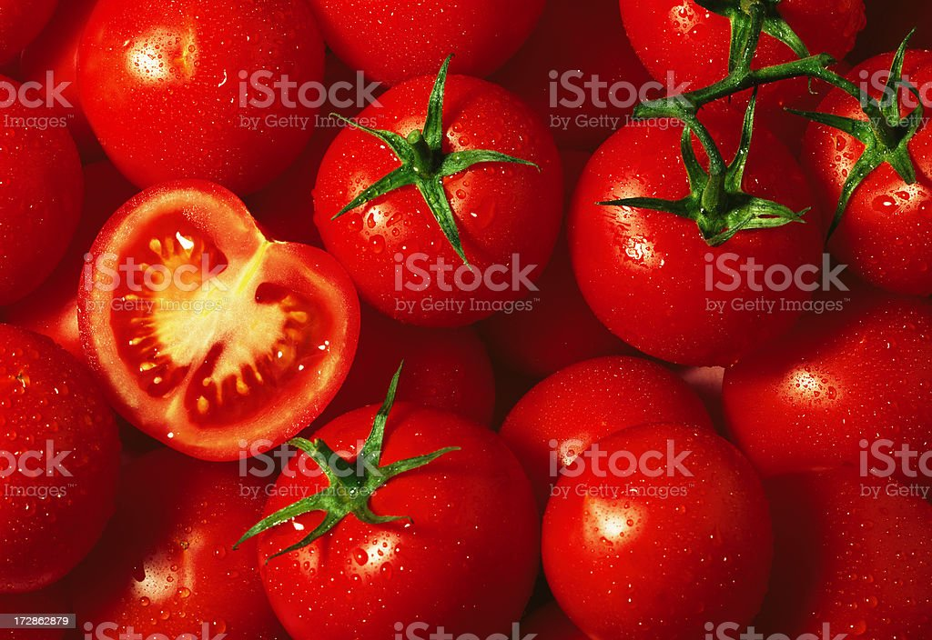 Tomato wallpaper (2) royalty-free stock photo