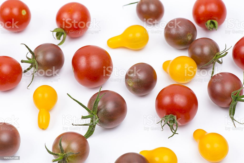 Tomatoes backgrounds stock photo