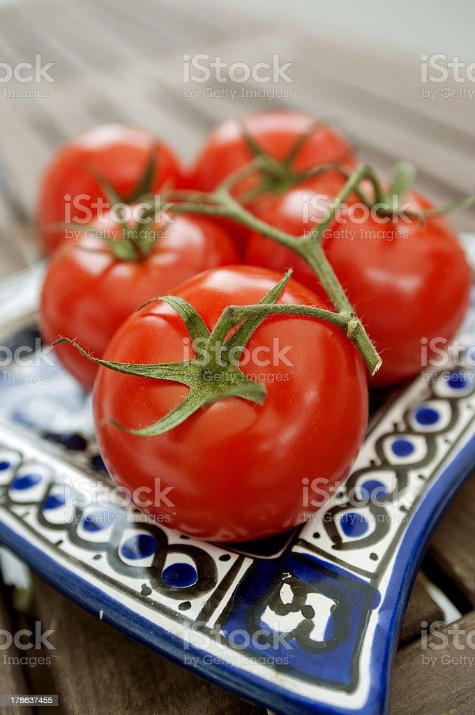 Tomatoes royalty-free stock photo