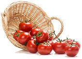 istock Tomatoes spilling out of basket 501265833