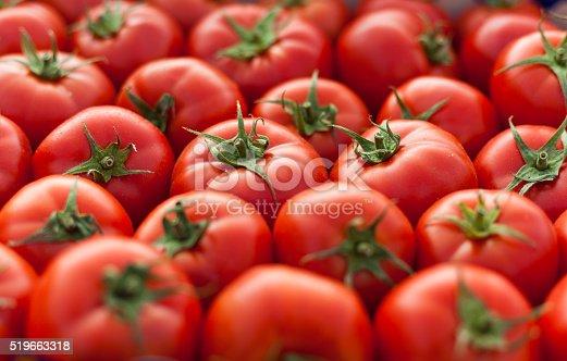istock Tomatos background 519663318