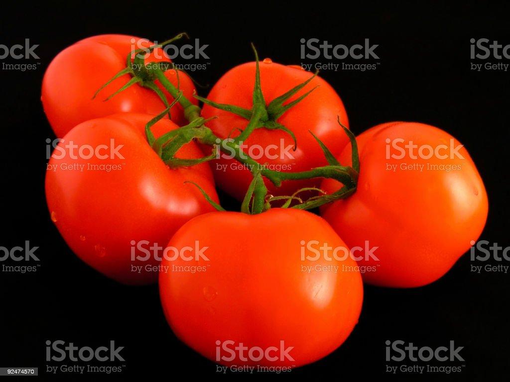 tomatos royalty-free stock photo