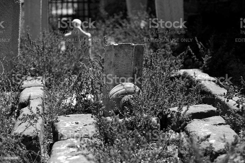 Tomb Arabic 2 stock photo