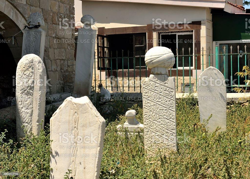 Tomb Arabic 3 stock photo