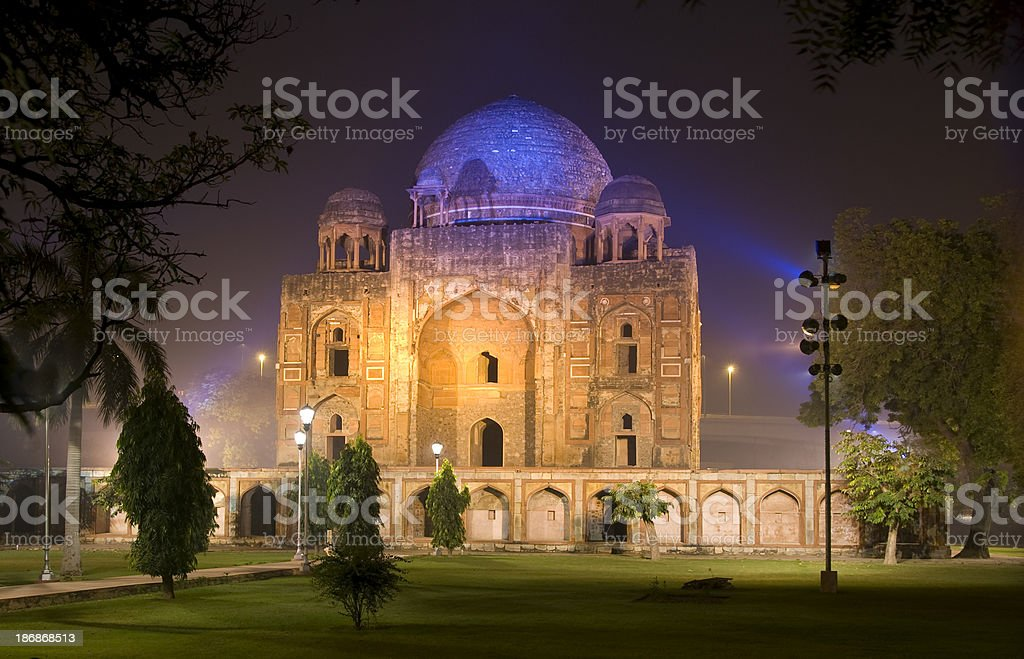 Tomb in Delhi royalty-free stock photo