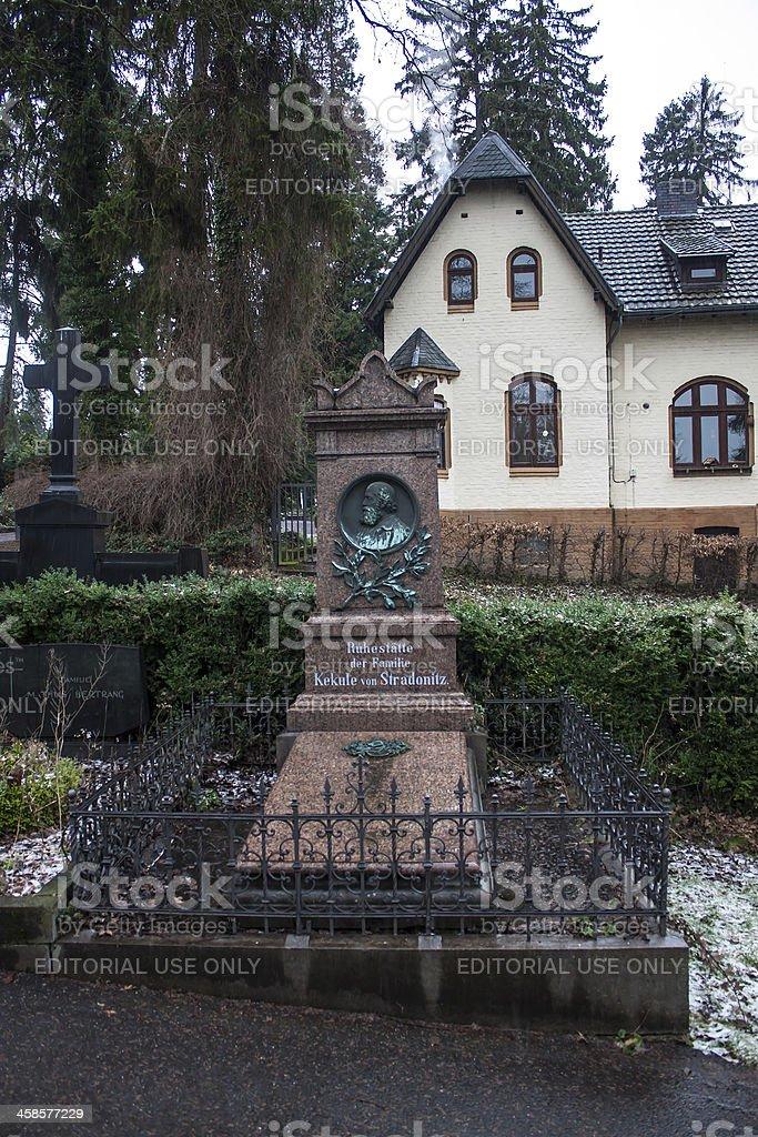 Tomb of August Kekule stock photo