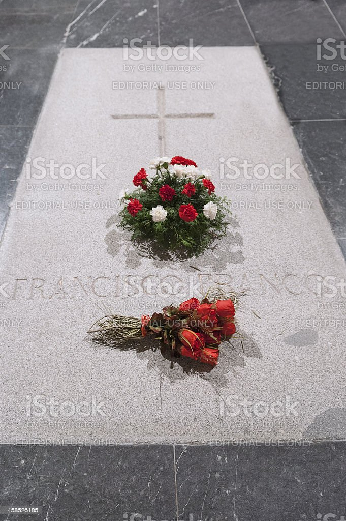 Tomb of Francisco Franco stock photo