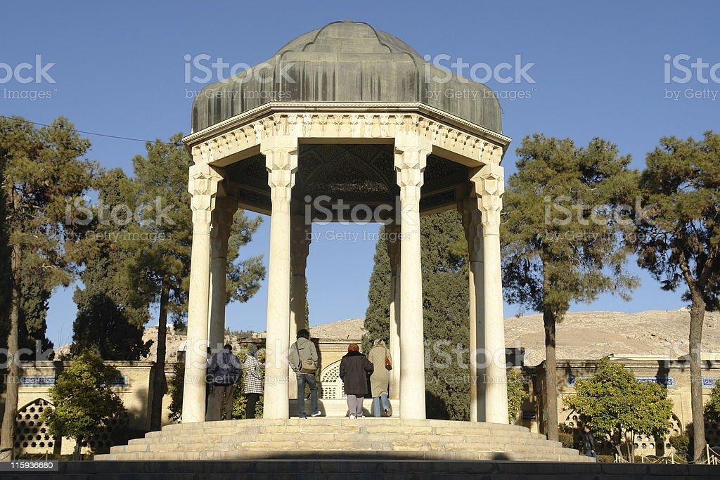 Tomb Of Hafez stock photo