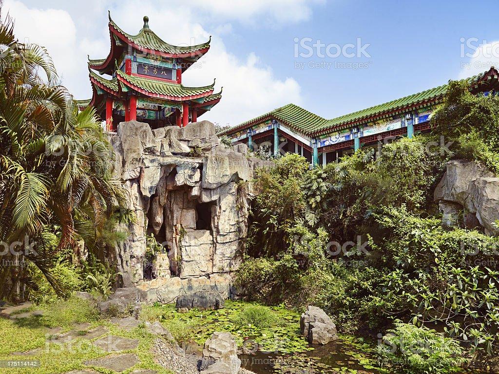 Tomb of Hai Rui in Haikou CHINA stock photo