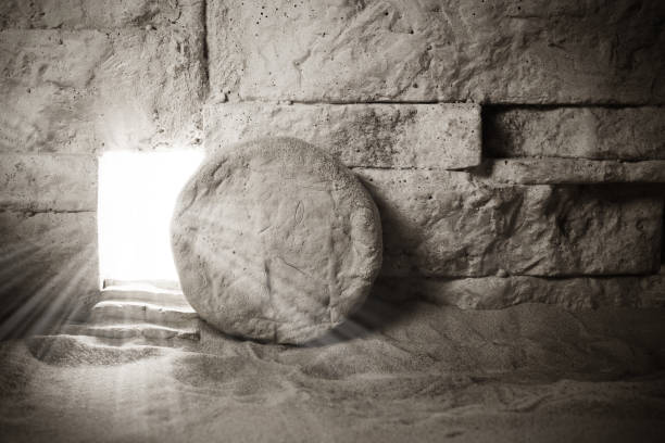 Tomb of Jesus. Jesus Christ Resurrection. Christian easter concept Tomb of Jesus. Jesus Christ Resurrection. Easter background. Christian easter concept. tomb stock pictures, royalty-free photos & images