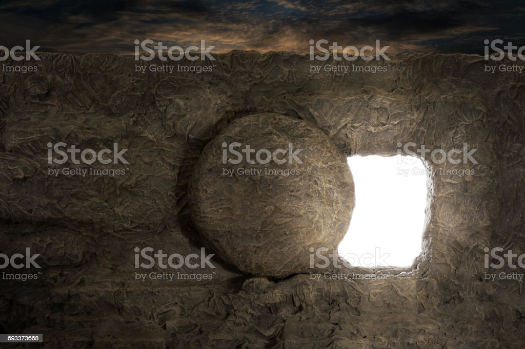 Tomb of Jesus stock photo