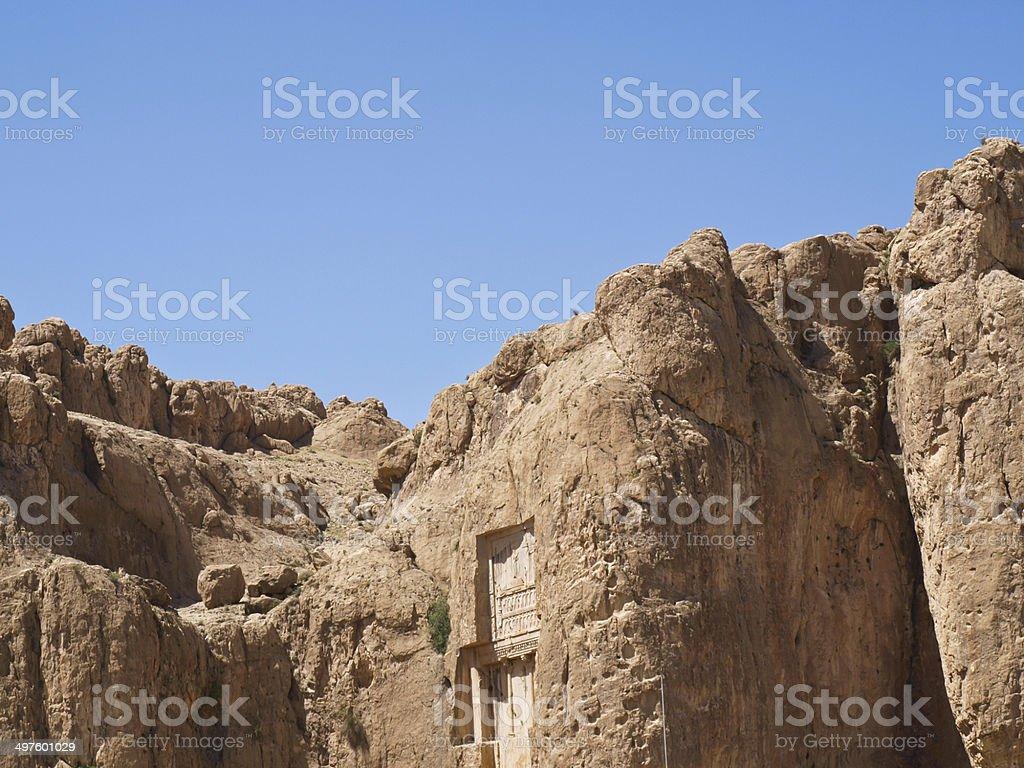 Tomb of Persian Kings stock photo