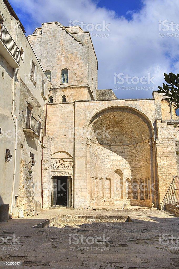 Tomb of Rotari. Monte Sant'Angelo. Puglia. Italy. royalty-free stock photo