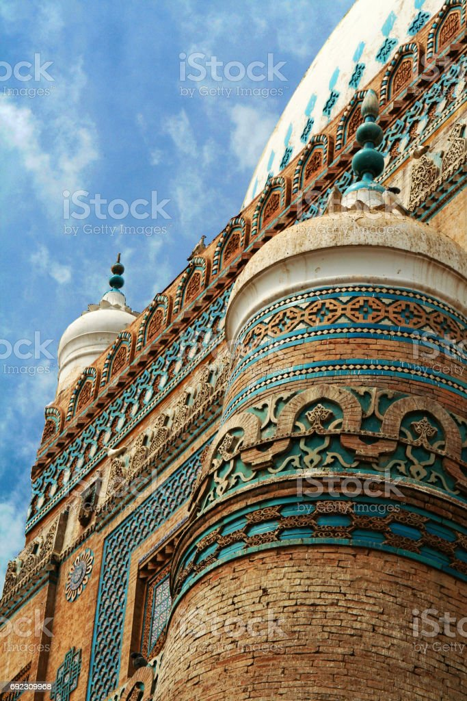 Tomb of Shah Rukn e Alam - Multan, Pakistan. stock photo