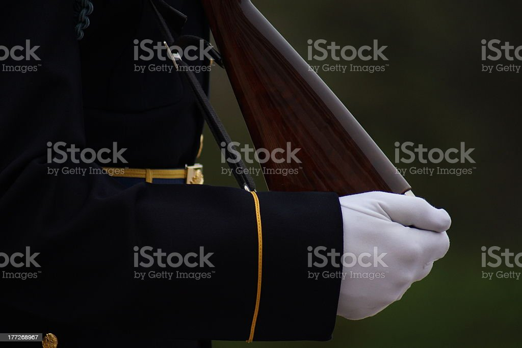 tomb of the unknown soldier royalty-free stock photo