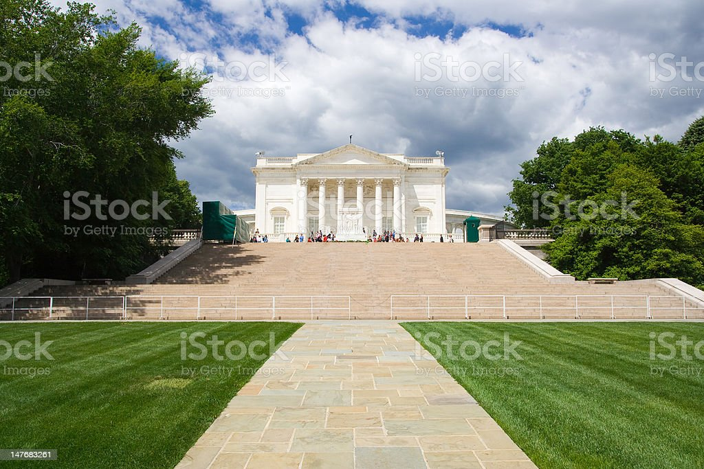 Tomb of the Unknowns - front view stock photo