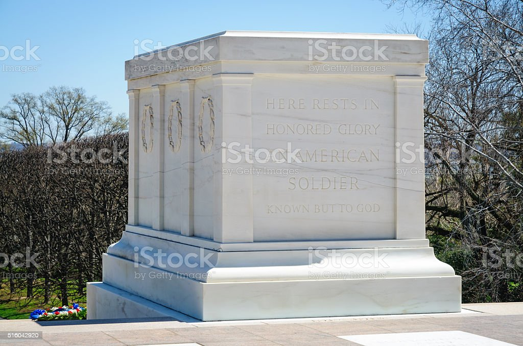 Tomb of the Unknowns stock photo