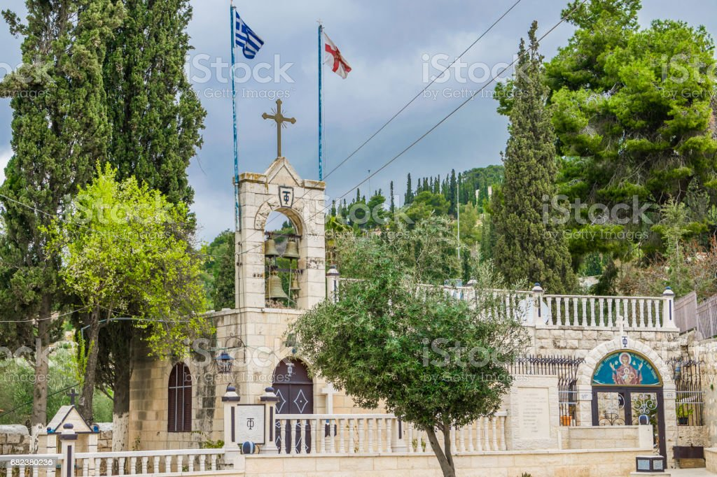 Tomb of the virgin - monastery royalty-free stock photo