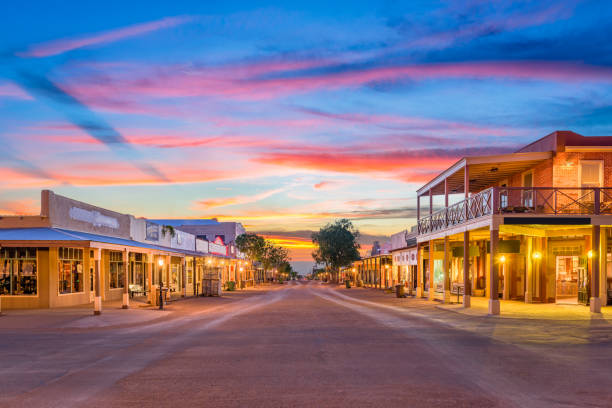 tombstone arizona usa - western town stock photos and pictures