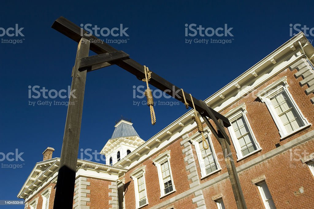 Tombstone county courthouse royalty-free stock photo