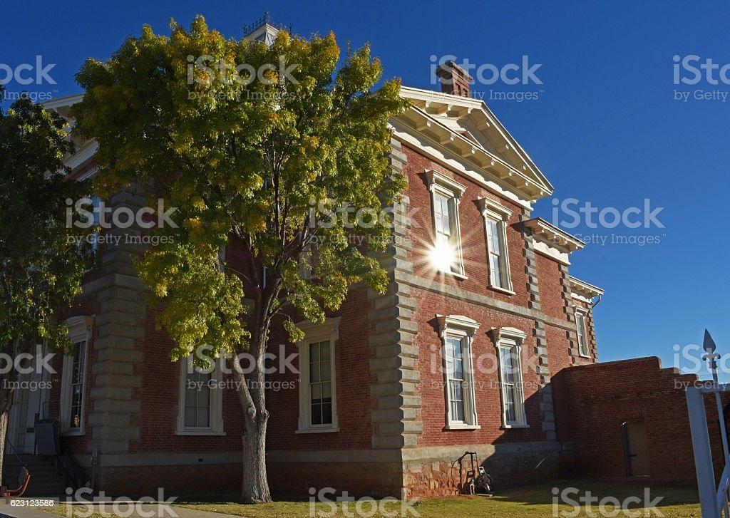 Tombstone Courthouse stock photo