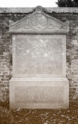 Old Tombstone (bluestone, 19th century,