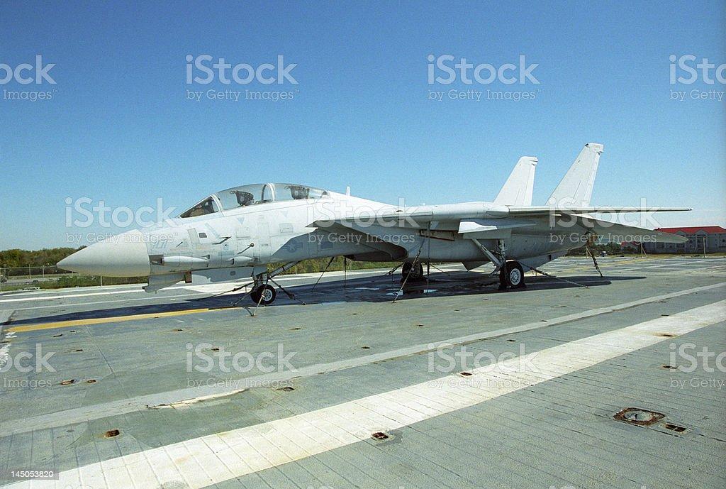 F-14 Tomcat royalty-free stock photo