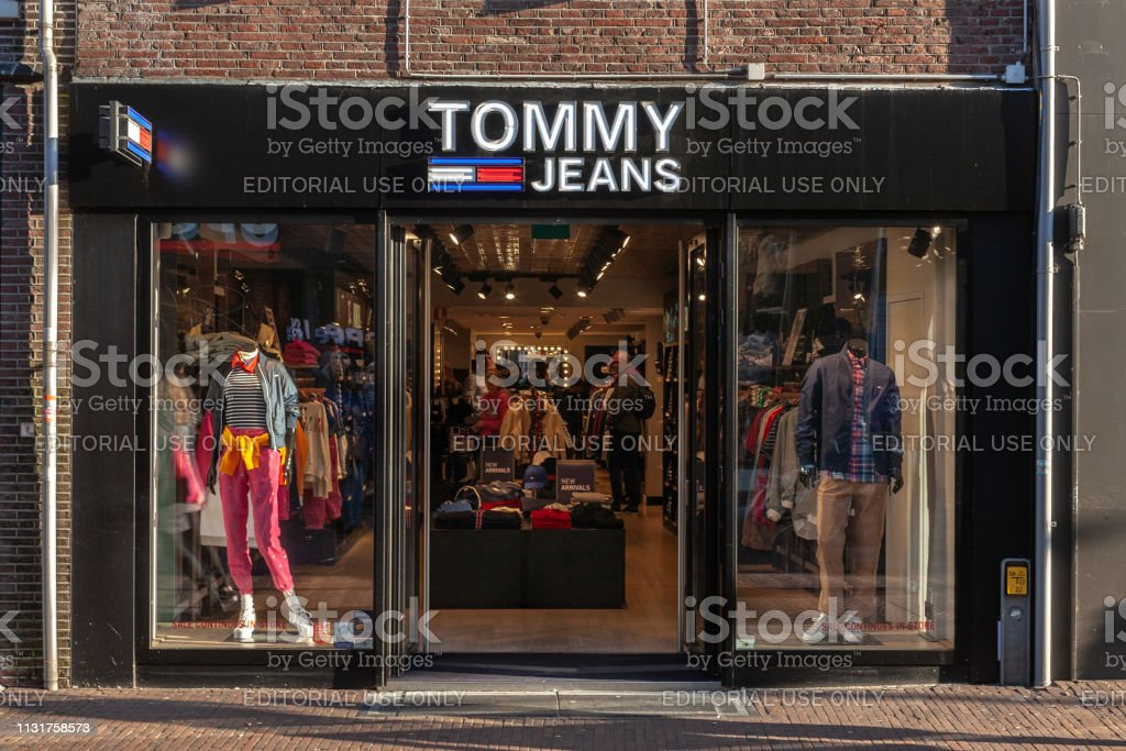 938813a8 Tommy Hilfiger Clothing store in Amersfoort, Netherlands-2019 royalty-free  stock photo