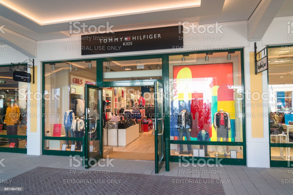 2eb3ed57 Tommy Hilfiger Kids Store Stock Photo - Download Image Now - iStock