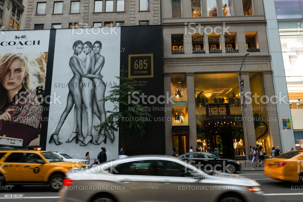 Tommy Hilfiger Store, Fifth Avenue, New York City – Foto