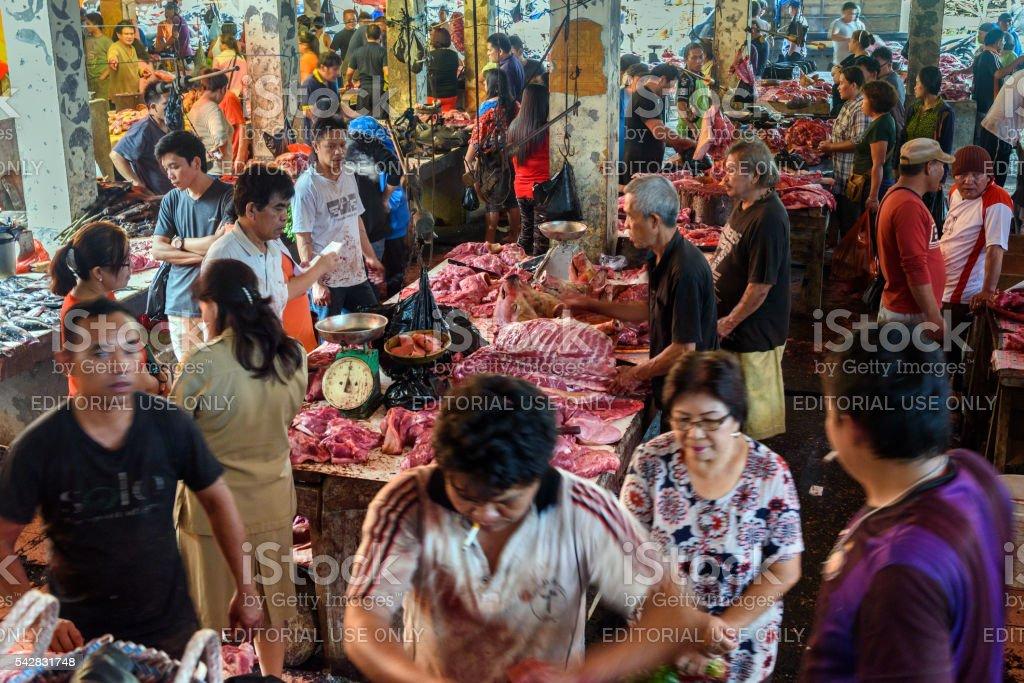 Tomohon Traditional Market stock photo