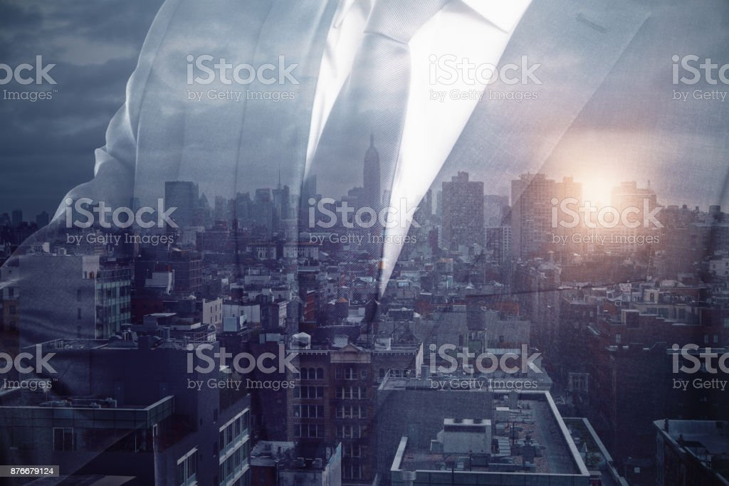 Tomorrow concept stock photo