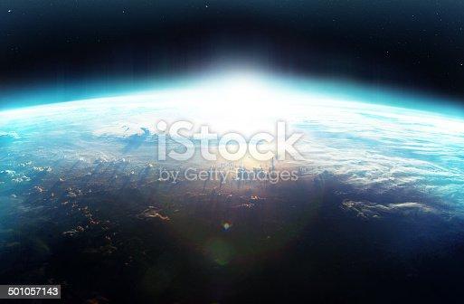 istock Tomorrow creeping steadily over the horizon 501057143