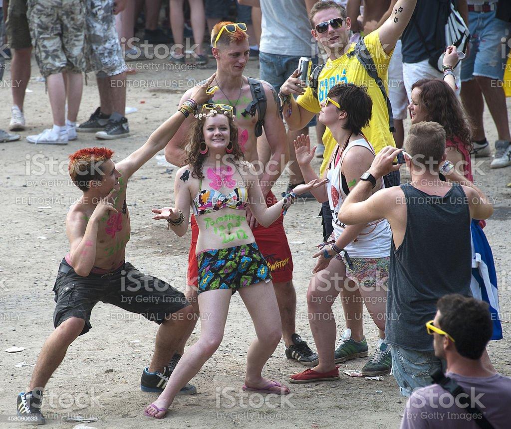Tomorrowland ダンスフェスティバル ロイヤリティフリーストックフォト