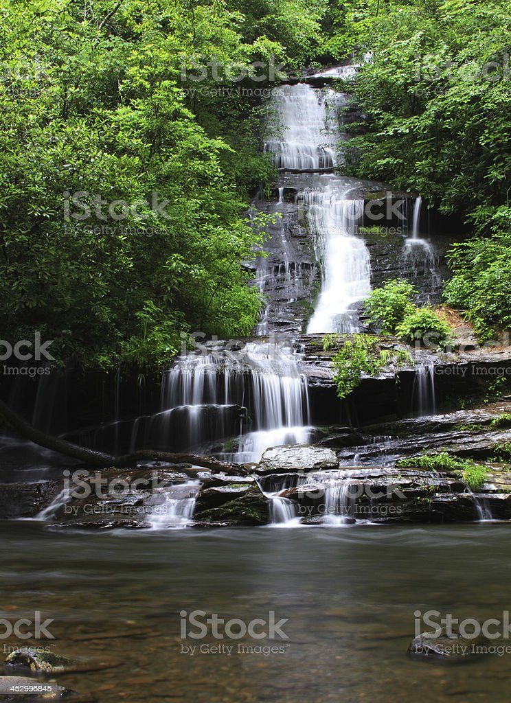 tom's branch falls royalty-free stock photo
