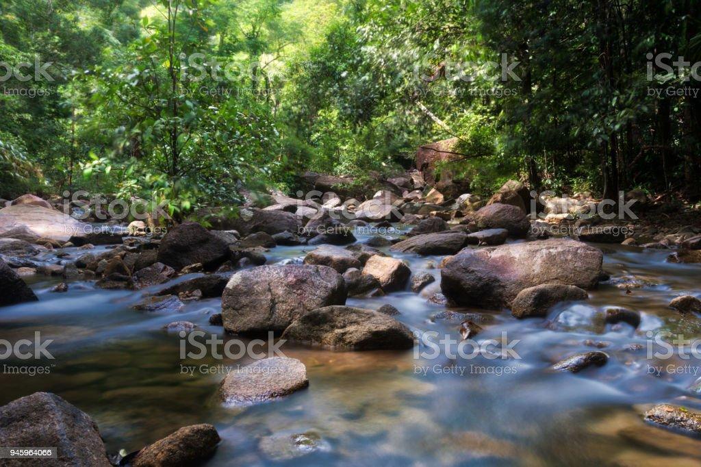 Ton Tae Waterfall stock photo