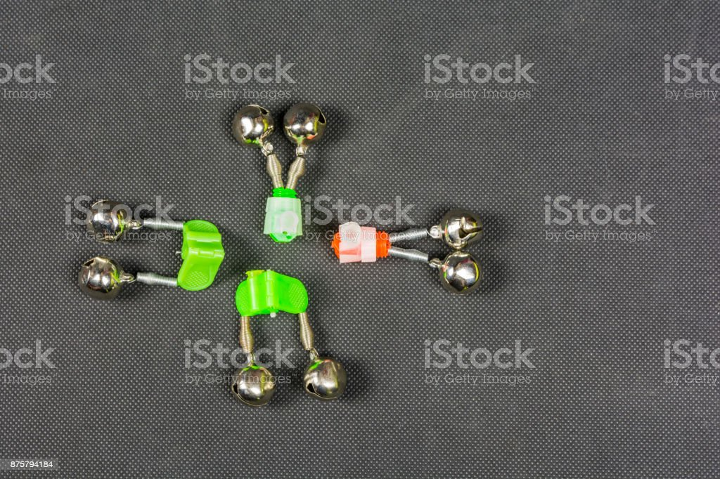 Tone signal used in angling. stock photo