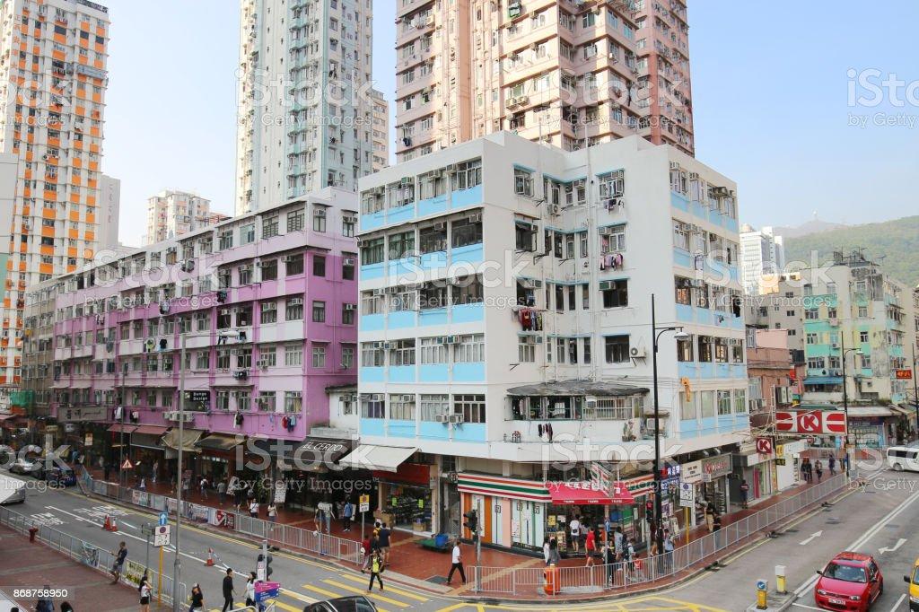 荃灣香港塘樓老屋圖像檔