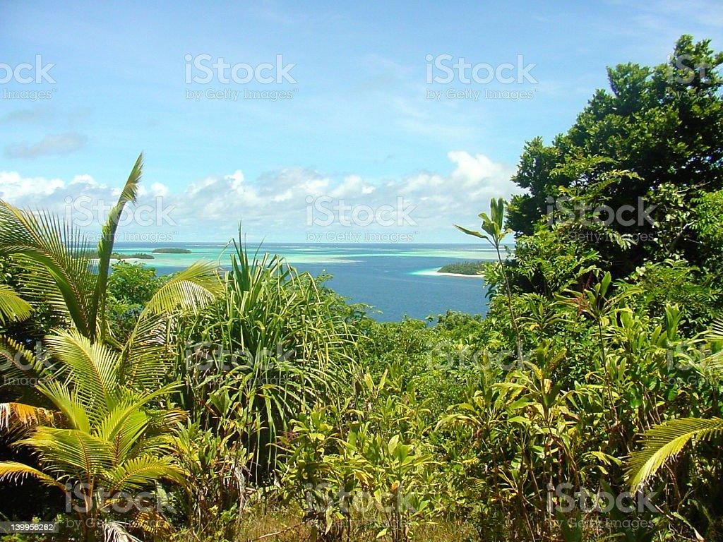 TONGAview royalty-free stock photo