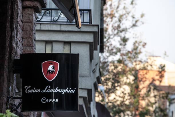Tonino lamborghini caffe logo lit on a cafe bar of belgrade during picture id1054651368?b=1&k=6&m=1054651368&s=612x612&w=0&h=w 6egmwucm845vhlffssmflt5tc1 6 ekbxbcflj3lo=