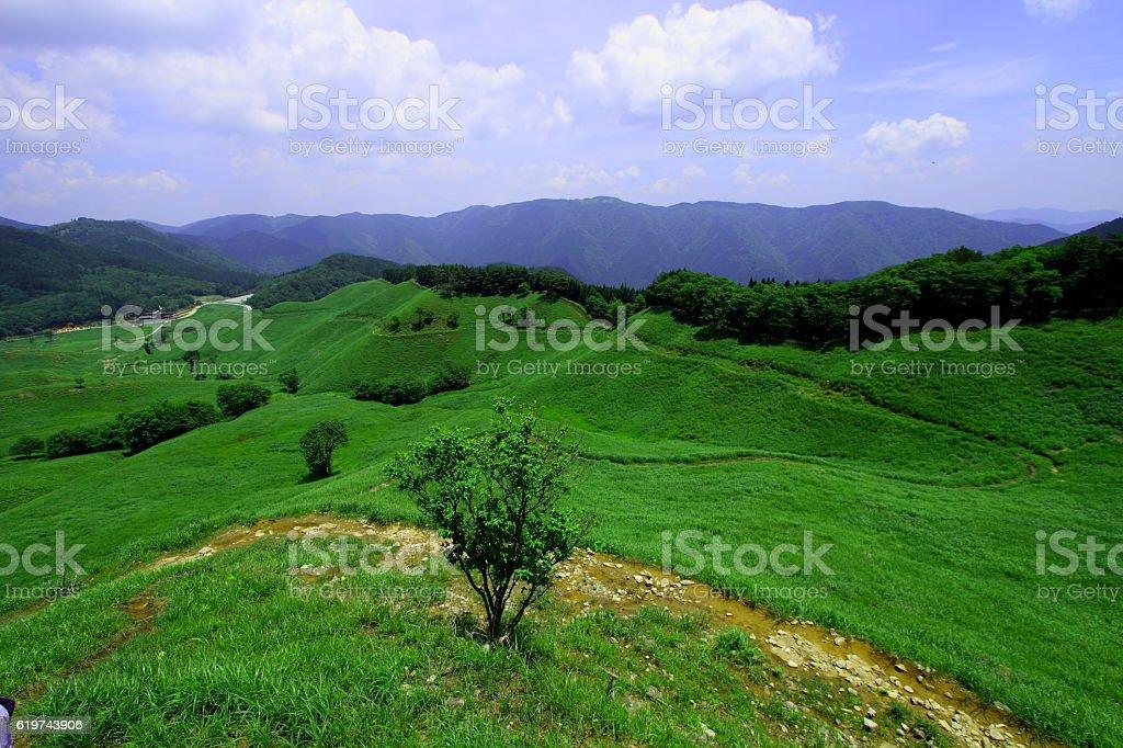 Tonomine Highland stock photo