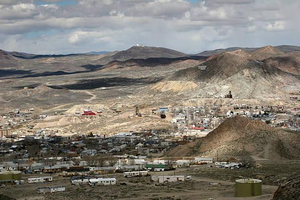Tonopah Nevada stock photo