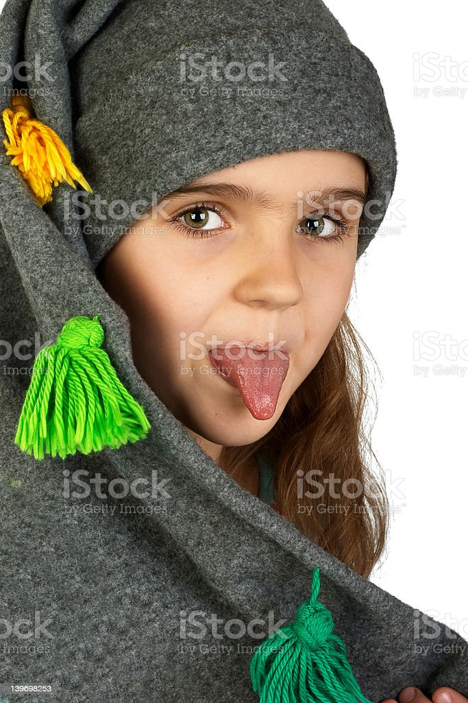 Tonque. royalty-free stock photo