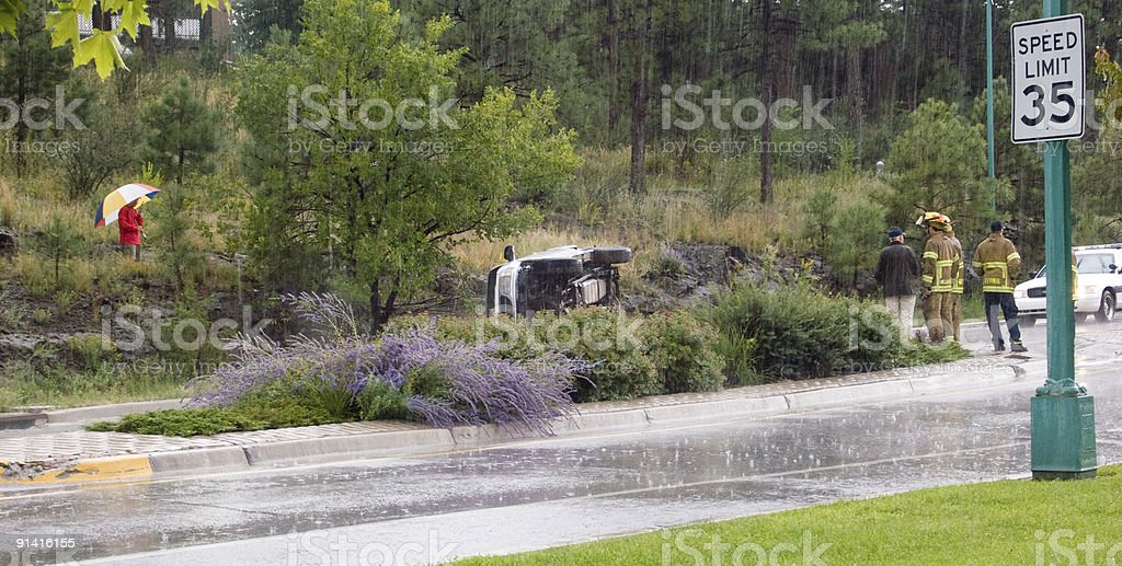 Too Fast for Conditions royalty-free stock photo