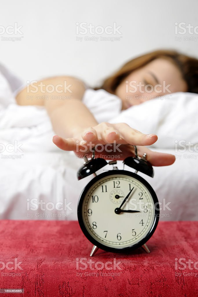 too late royalty-free stock photo