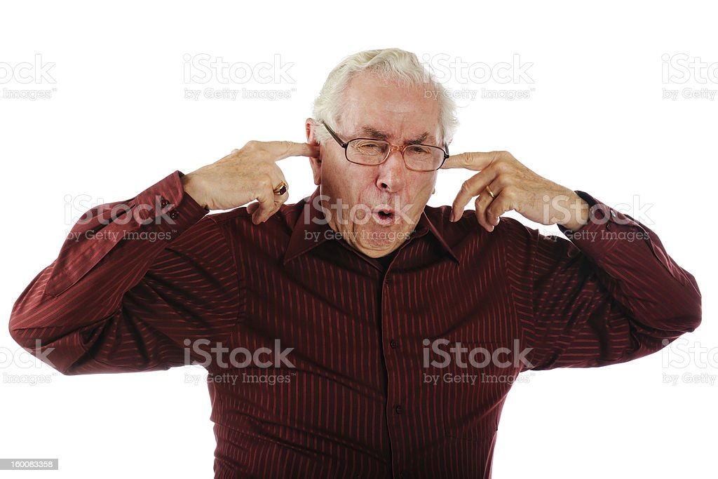 Too Loud! stock photo