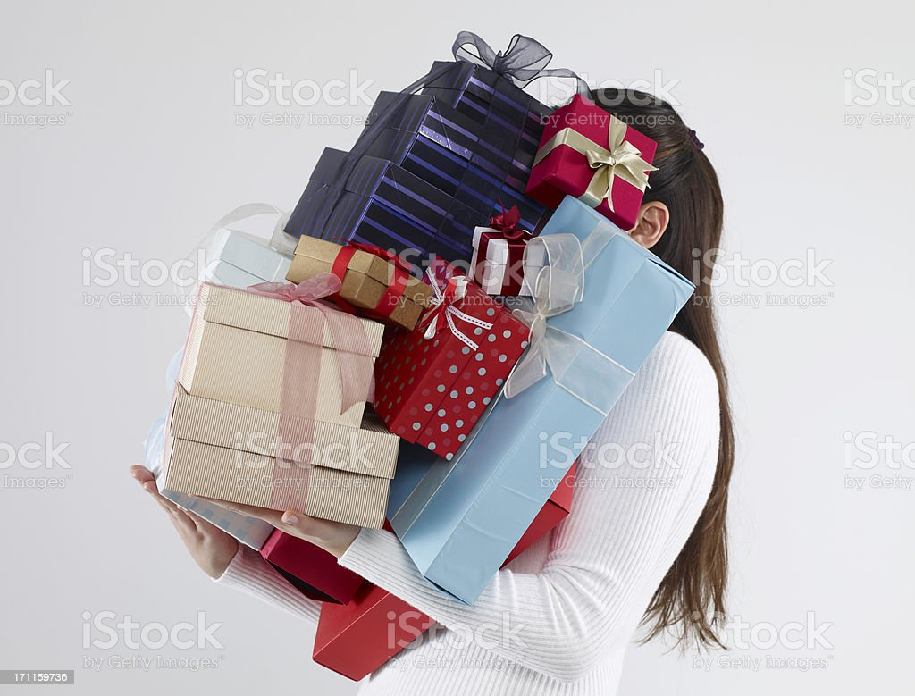 Too Many Gifts stock photo