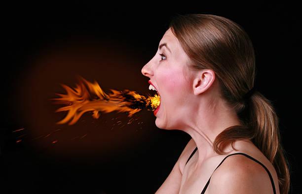 too much chili pepper - food woman to smell bildbanksfoton och bilder