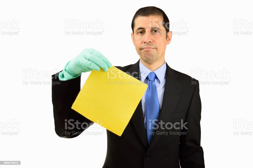 Too much cleaning stock photo